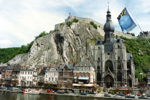 Church and citadel, Dinant