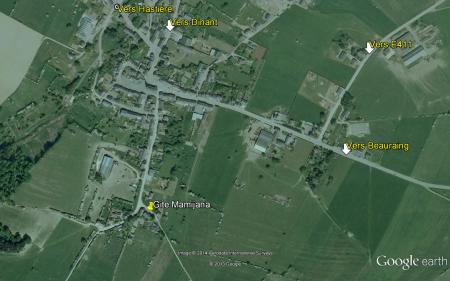 Plan satéllite de Mesnil